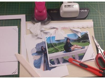Master Class: Enmarcar Fotos + esquinas de fotos -  Frame photos