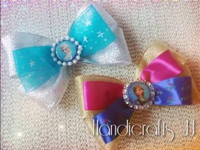 Moños de princesas disney para niñas hechos paso a paso, muy fáciles de hacer