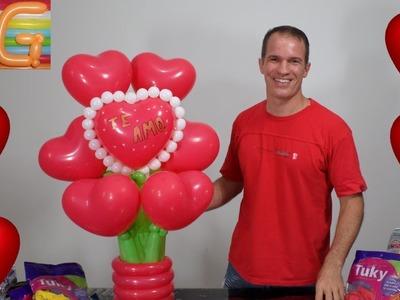 Regalos para san valentin - manualidades para el 14 de febrero - globoflexia