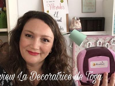 Review troqueladora La Decoratrice de Toga
