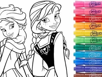 ROTULADORES MÁGICOS Descubre los dibujos secretos FROZEN Paint Colouring for kids