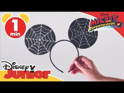 Tutorial Halloween Mickey: Diadema de Mickey para Halloween | Disney Junior Oficial
