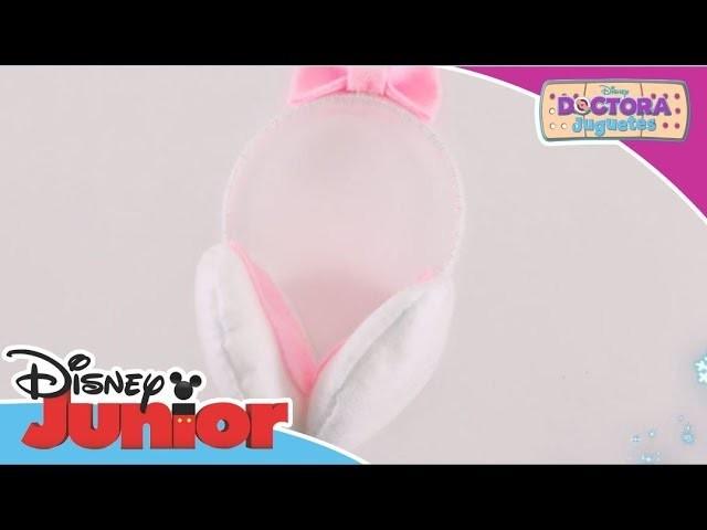 Tutoriales de Navidad: Doctora juguetes - Orejeras de Lanitas  | Disney Junior Oficial