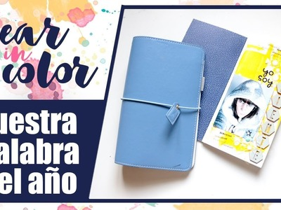 Year in color: Nuestra palabra del año. Tutorial Creación de cuadernos.