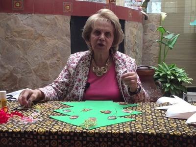 Aprenda con Doña Luz - Árbol Navideño fácil y económico