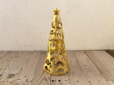 Árbol de navidad con porcelana fría