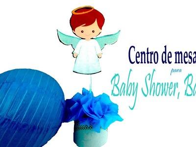 ????CENTRO DE MESA PARA BABY SHOWER, BAUTIZO Y NACIMIENTO DE NIÑOS ???? Sabor de Fiesta