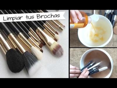 Chuladas Creativas :: Cómo Limpiar bien las brochas de maquillaje :: Tips Sammily