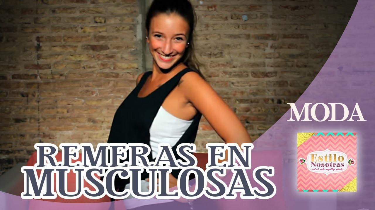 Cómo convertir remeras en musculosas, Moda by Ornella Griffa | ESTILO NOSOTRAS