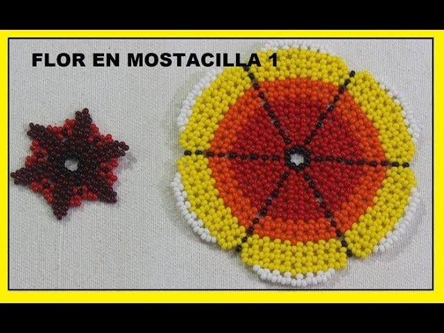 COMO HACER FLOR GRANDE EN MOSTACILLA PASO 1