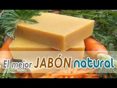 Como hacer JABÓN de ZANAHORIAS para mejorar tu piel