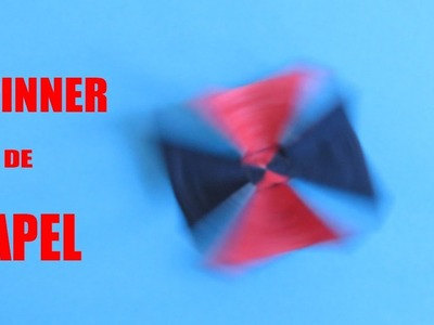 Como Hacer Un Spinner De Papel Muy Divertido - How To Make
