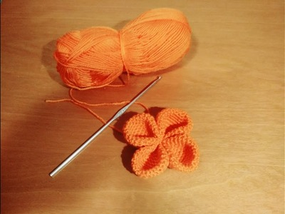 Como hacer una flor de ganchillo