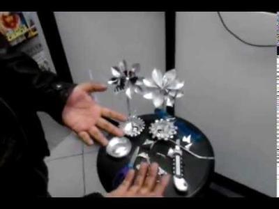 Como hacer una flor de lata extra (OXXO)