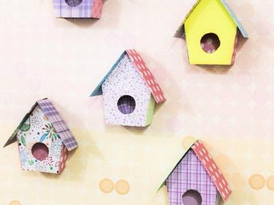 Como hacer unas bonitas casitas de pájaros decorativas - Hazlo tu Mismo Hogar - Guidecentral