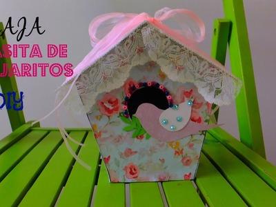 DIY Cajita de pajaritos para regalar #cajas 2