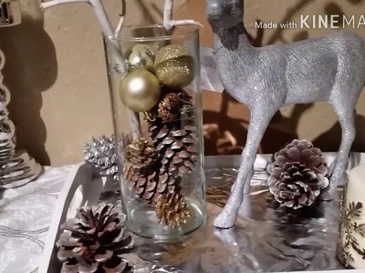 DIY. Ideas de centros de mesa Navideños para decorar ???? ???? ????