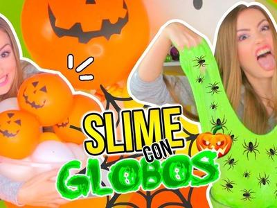 HAZ SLIME EXPLOTANDO GLOBOS! ???????? Making Slime With Balloons | Slime CHALLENGE!