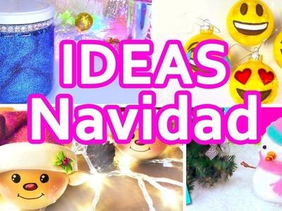 IDEAS DE MANUALIDADES PARA NAVIDAD!