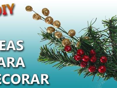 Ideas navideñas   COMO DECORAR EN NAVIDAD