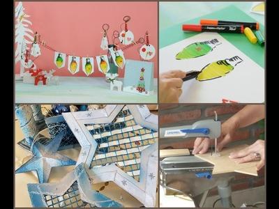 Manos a la Obra TV Programa 102 - Fusion Markers - Guirnalda en Papel - Herramientas Dremel