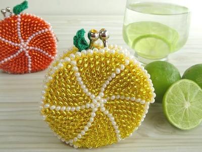 Monedero en forma de limón