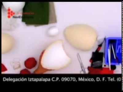 MUÑECO DE NIEVE PARA BOTELLA DE SIDRA