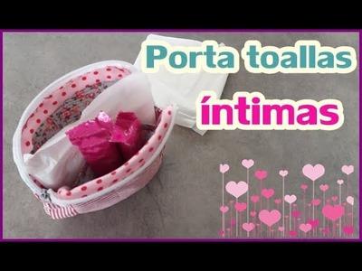 Porta Toallas Femeninas | Yuyi's Creations | English subtitles
