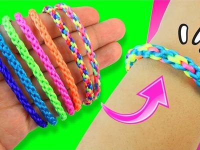 Pulsera tejido para principiantes | KUMIHIMO - Capítulo 2 ★ DIY Tejido facil y sencillo ★