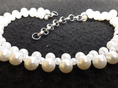 Sencillo y Sutil Collar de Perlas. Clase #70!!!