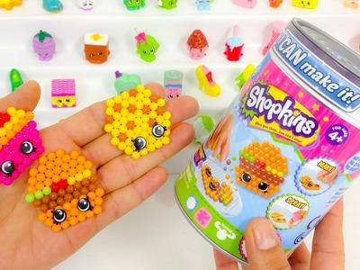 SHOPKINS crea tus propios shopkins\I CAN MAKE IT BEADOS juguetes de shopkins