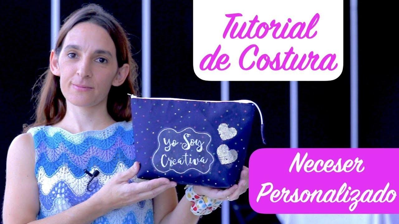 Tutorial de Costura - Neceser Personalizado, en Creativa Madrid 2017
