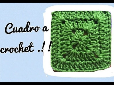 Tutorial paso a paso Cuadro a crochet, Tejiendo con Erica.!!