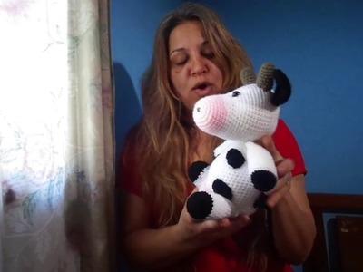 Vaca Lola- Amigurumi