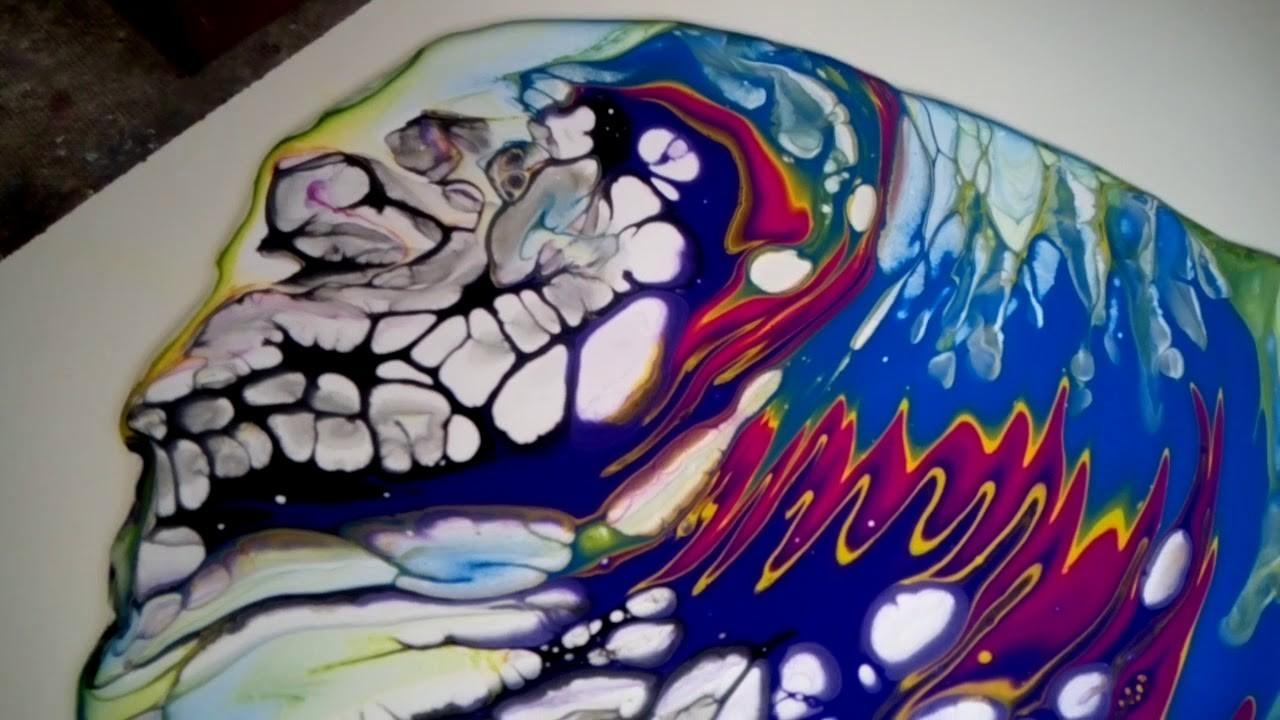 161 -El arte arte en la Pintura. POURING !!!!!!!!