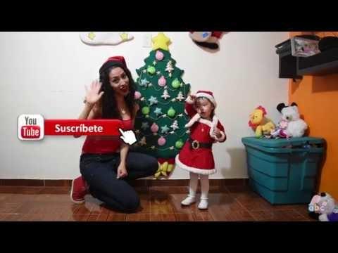 Árbol de Navidad de Fieltro para tus hijos