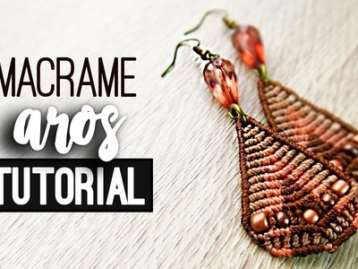 Aros triangulares » ???? tutorial | como hacer | diy ● Earrings #102