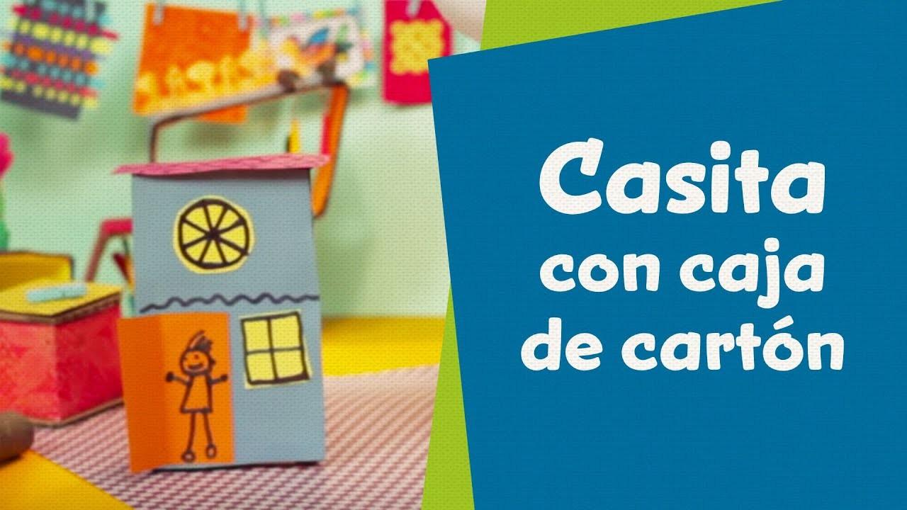 Casita con caja de cartón | SuperHands en Español | Hazlo Tu Mismo | PlayKids en Español