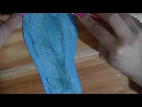 CLASE 1: elaboracion y forrado de plantillas Curso Básico de zapatos tejidos para Principiantes