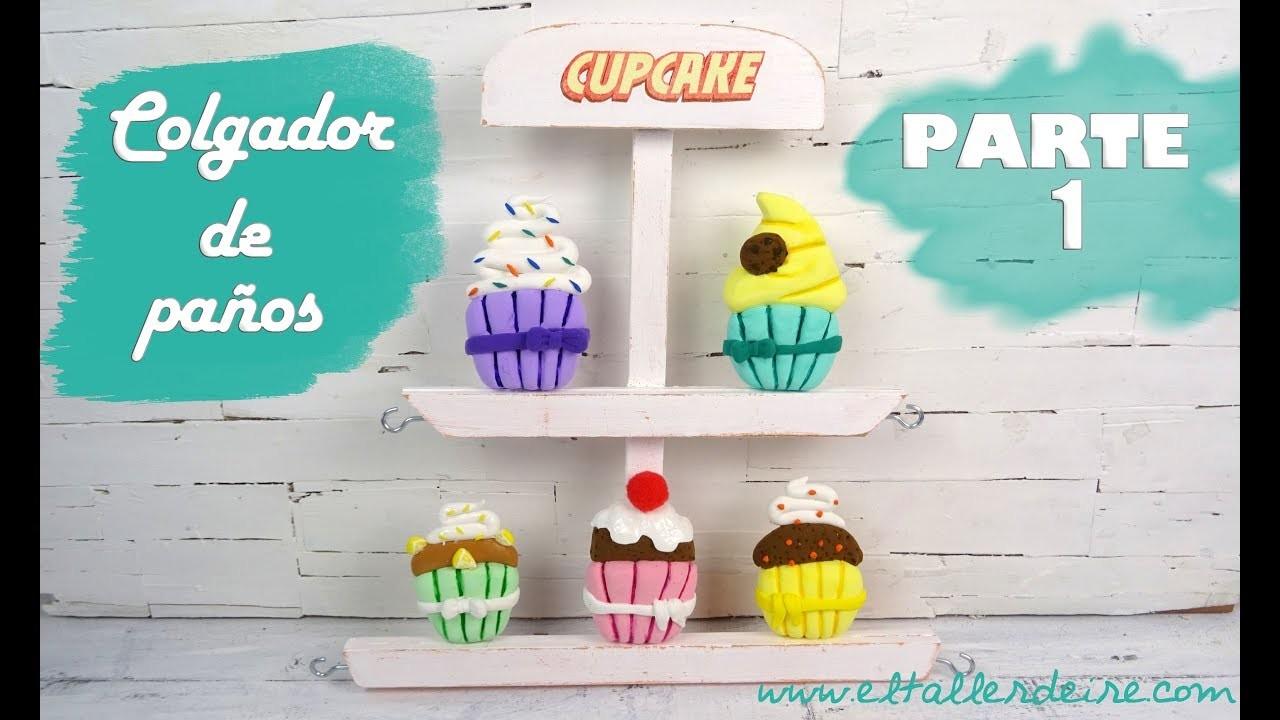 COLGADOR DE PAÑOS DE COCINA PASO A PASO - PARTE 1