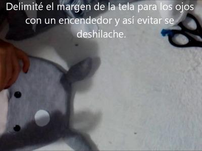 Cómo hacer a Totoro de Tela