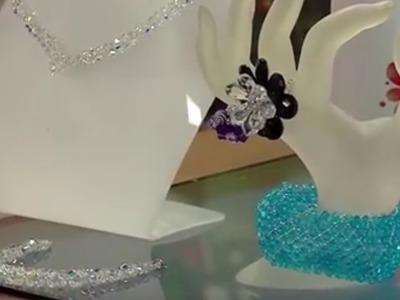 Como hacer un Collar de Cristal Swarovski - Hogar Tv  por Juan Gonzalo Angel