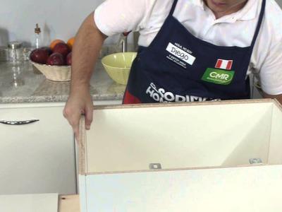 Cómo hacer un estante para microonda - Manos a la Obra