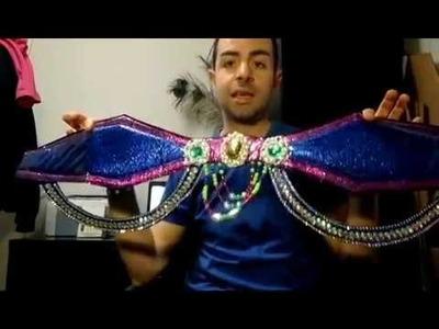 DIY Como Hacer cinturones de Carnaval o decorados para Shows