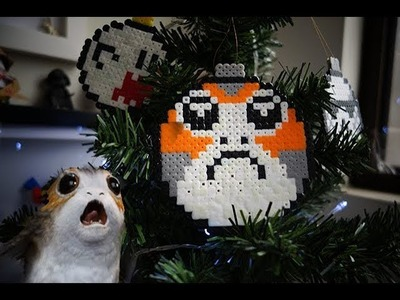 DIY Star Wars! Porg de Hama Beads.