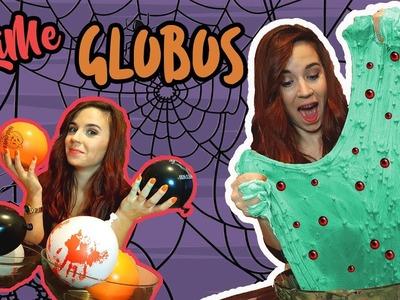 HAZ SLIME CON GLOBOS RETO | Making Slime With Balloons | Pat Sánchez ♡