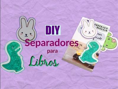 LINDOS SEPARADORES PARA LIBROS (personalizar tus libros favoritos!)