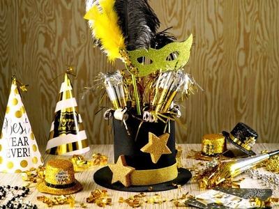 Manualidad | Centro de Mesa para Año Nuevo