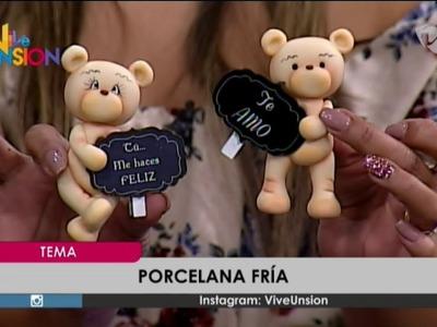 """""""Manualidades en Porcelana Fría"""" - Paola Mendieta, Instructora."""