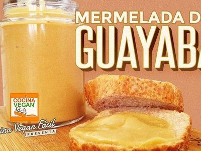 Mermelada de guayaba - Cocina Vegan Fácil
